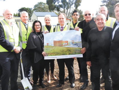Phillip Island Health and Medical Hub Sod Turning